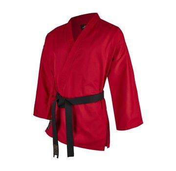 standaard vechtsport jas rood