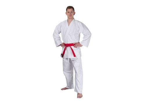 BUSHIDO karate pak, wit Canvas