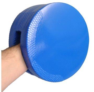 Dubbel zijdig trapkussen blauw foam