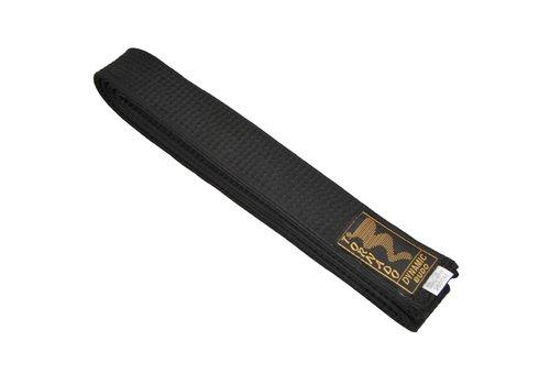 vechtsport band zwart, 5 cm