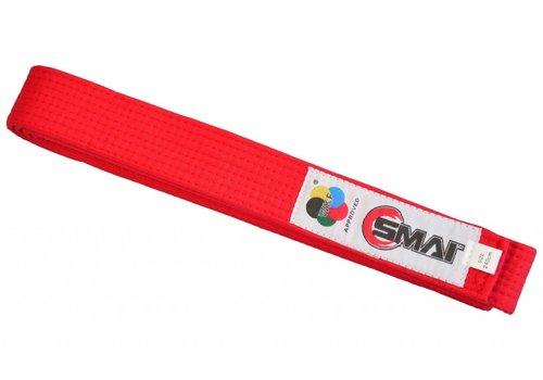 SMAI WKF copetition band rood