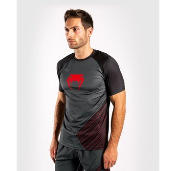 Venum Contender 5.0 Dry Tech Shirt - zwart/rood