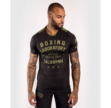 Venum Boxing Lab Dry Tech Shirt - zwart/khaki