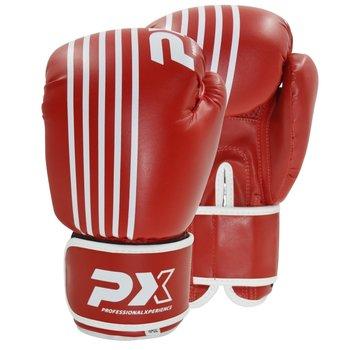 PX bokshandschoenen SPARRING,PU, rood-wit