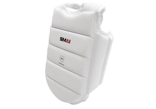 SMAI WKF Karate kinder borstpantser wit