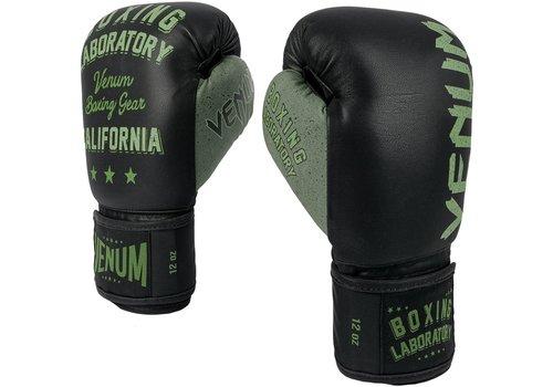 Venum Boxing Lab bokshandschoenen - zwart/khaki