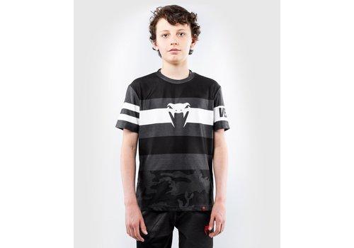 Venum kinder Bandit Dry Tech Shirt - zwart/grijs