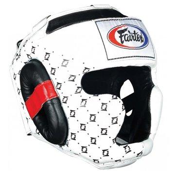 Fairtex HG10 Super Sparring Headguard white