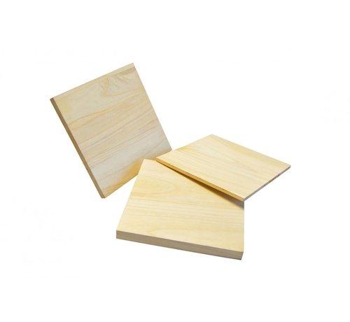 houten breekplank L30 x B30 cm voor breektest (6,10,15,20 mm dik)