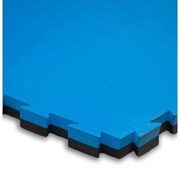 Puzzelmat 100 x 100 x 4 cm Zwart/blauw- Gratis verzonden