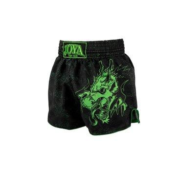 Joya Kickboksbroek - Dragon - Neon Groen