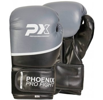 PX PRO FIGHT PU bokshandschoenen zwart-grijs