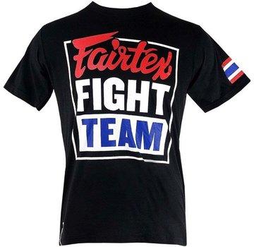 Fairtex T-Shirt Fight Team, zwart