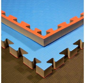 "puzzelmatten ""DOITSU"" blauw-rood, 100x100x4cm - Gratis verzonden"
