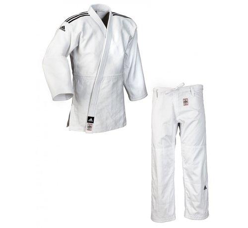 "Adidas ""CHAMPION II"" IJF Judo pak wit - 160 Cm -OP=OP"