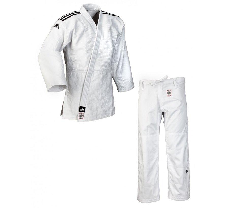 """CHAMPION II"" IJF Judo pak wit - 160 Cm -OP=OP"