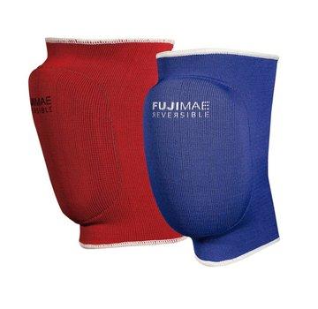 Fuji Mae Knie beschermers kort rood blauw omkeerbaar