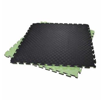 2,5 Cm Puzzelmatten rood/blauw of groen/zwart- Gratis verzonden