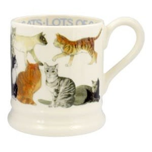 Emma Bridgewater 0.5 pt Mug All over Cats