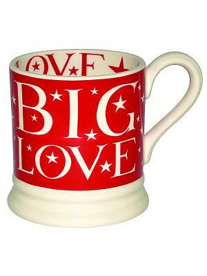 Emma Bridgewater 0.5 pt Mug Big Love Red