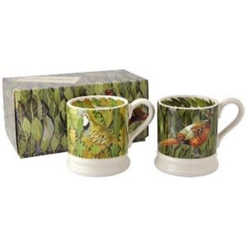 Emma Bridgewater 0.5 pt Mug Bird&Leaves