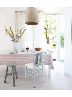 Rozablue Tafellaken Funky stripes roza & blue