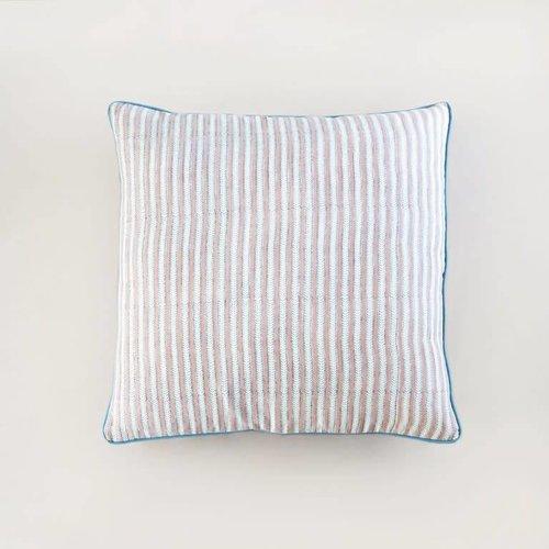Rozablue Kussen 60x60 Funky Stripes roza & blue