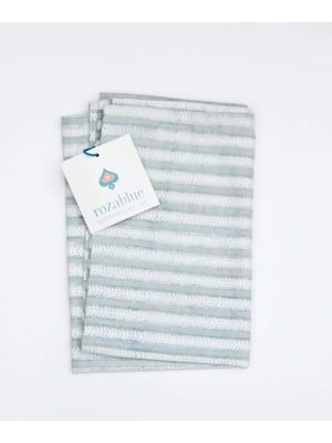Rozablue Theedoek Funky Stripes sky gray