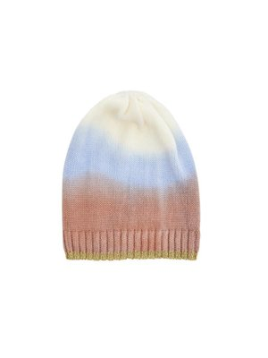 Rice Beanie in Ombre Colors - Nougat Brown
