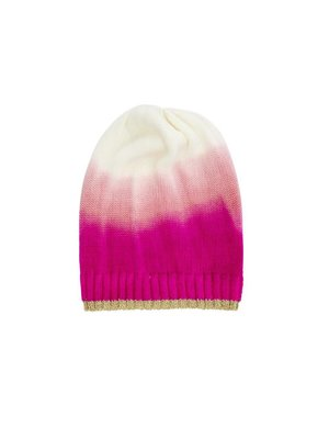 Rice Beanie in Ombre Colors - Pink