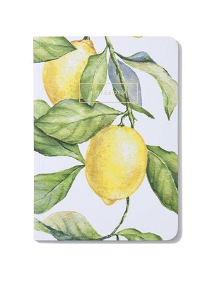 Notebook Yellow Lemon Tree