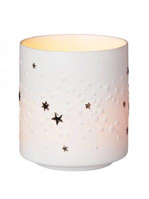 Räder Lichtje Porcelain Dream Ster zilver