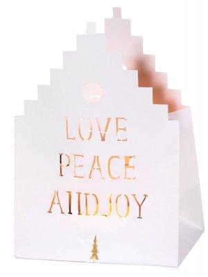 Räder Kaart LightHouse Love Peace Joy