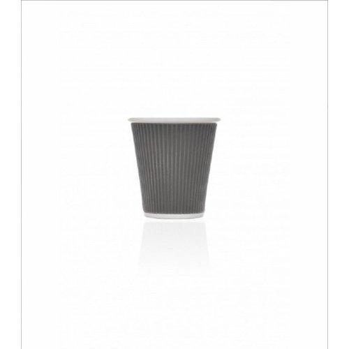 Les Artistes Koffie mok 18cl Donker Grijs