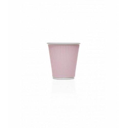 Les Artistes Koffie mok 18cl Pastel Pink
