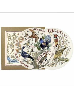 Emma Bridgewater 8.5 Plate set/2 Game Birds AW17