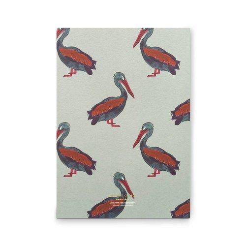 Fabienne Chapot Notebook A5 Pelican