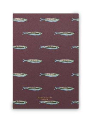 Fabienne Chapot Notebook A5 Sardine