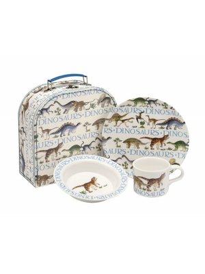 Emma Bridgewater Mel Suitcase Dinosaurs set