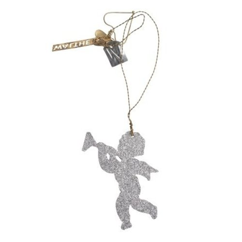 Walther & Co Angel silver glitter