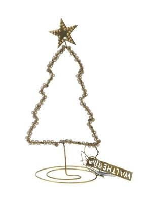 Walther & Co Christmas Tree gold antique 26034-14