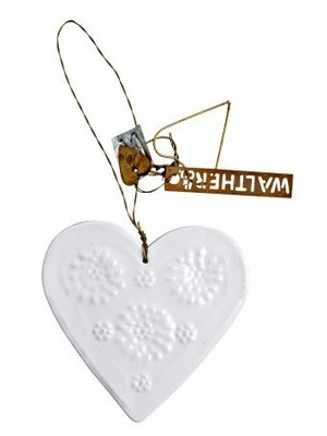 Walther & Co Heart white