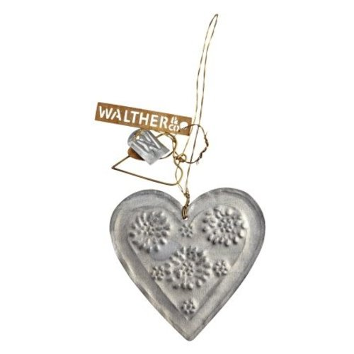 Walther & Co Heart zinc
