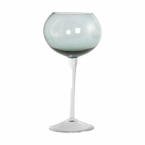 House Doctor Glas Elegant Ball dusty groen