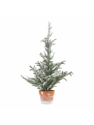 House Doctor Kerstboom Tree Christmas Ice finish 64cm