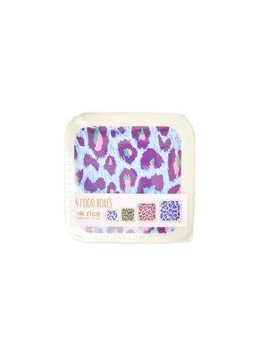 Rice Food boxes Leopard set/4