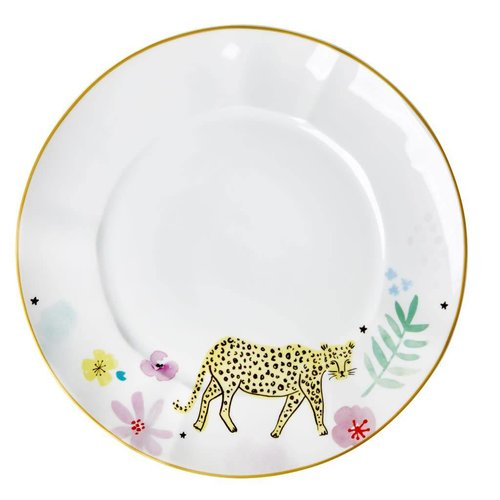 Rice Dinerbord Leopard