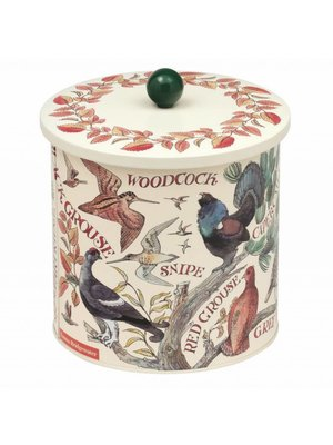 Emma Bridgewater Blik Biscuit Barrel Game Birds