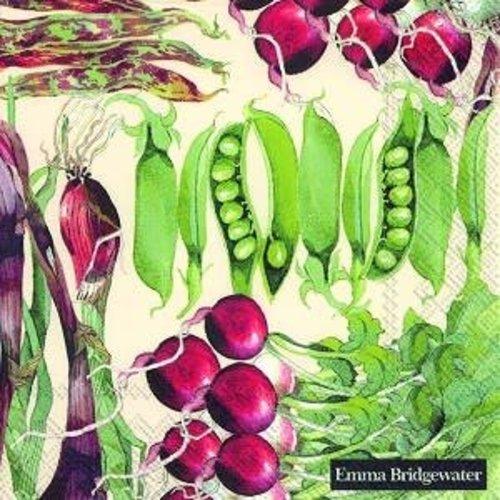 Lunch Servet Vegetable Garden