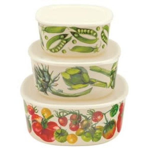 Emma Bridgewater Mel Containers s/3 Vegetable G